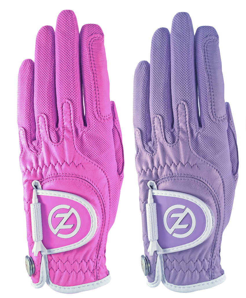 Zero Friction golf gloves come in a variety of colors.