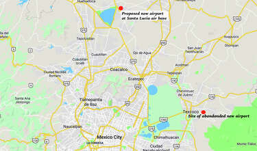 Airports: LAX, Ontario, San Francisco, New Orleans, JFK, Mexico City on