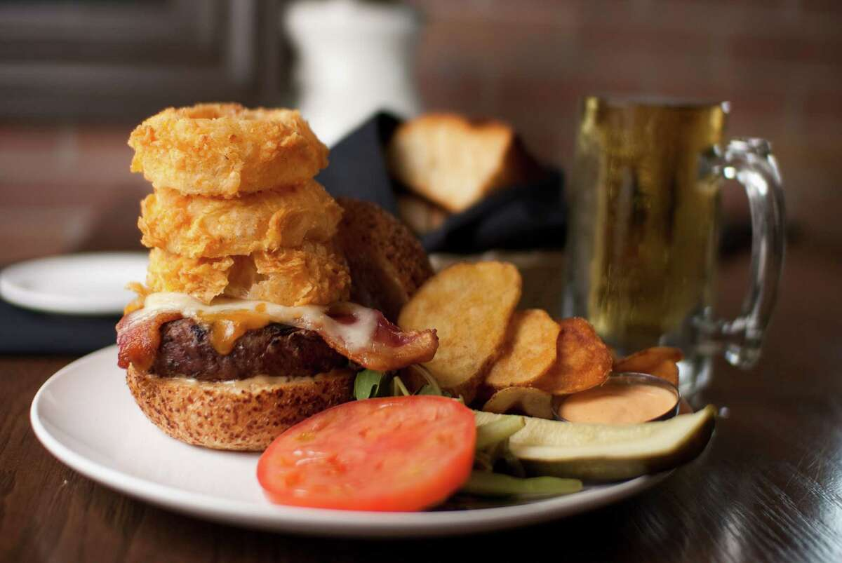 The Union Kitchen will open at The Boardwalk at Towne Lake, 9955 Barker Cypress, later this summer, replacing the former Jaxton's Grill House & Bar. Shown: The Union Burger on the menu at The Union Kitchen.
