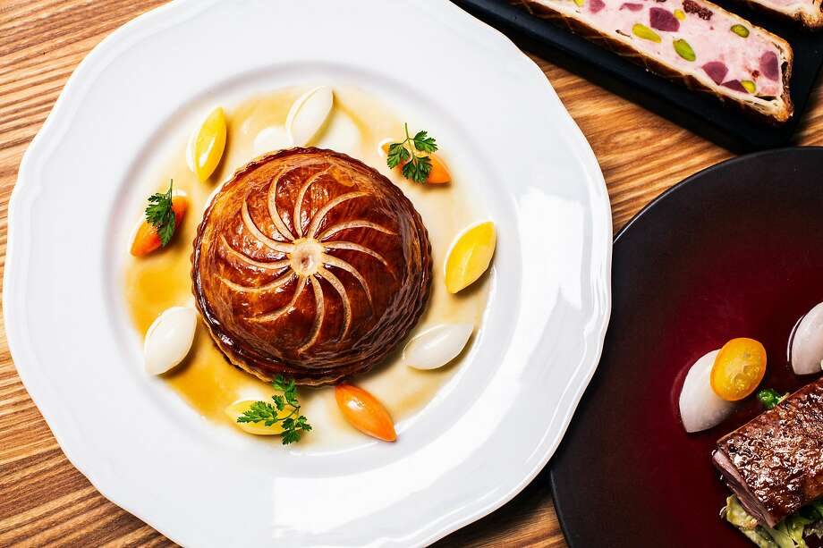 Pithivier at Verjus in San Francisco. Photo: Stephen Lam / Special To The Chronicle