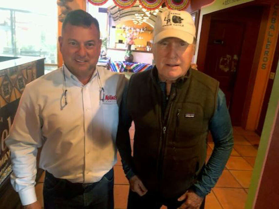 Robert Duvall dined at Molina's Cantina in Houston Tuesday. Photo: Courtesy