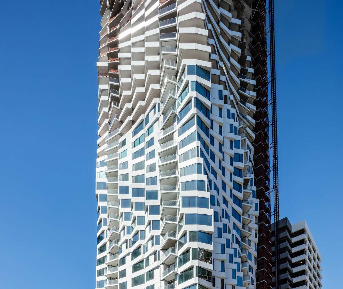 The 400-foot-tall MIRA is slated to open in late 2019 with 392 new luxury residences.