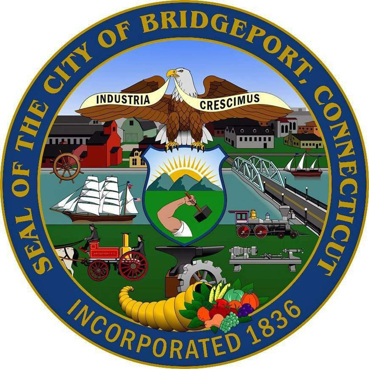 File photo of the Bridgeport, Conn., seal.