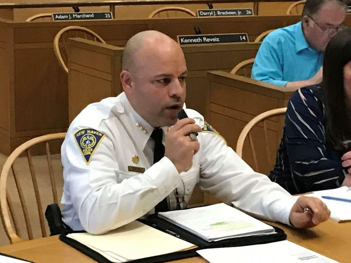 New Haven Police Chief Otoniel Reyes