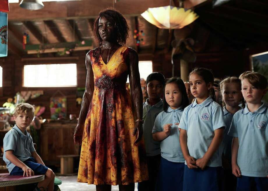 Lupita Nyong'o is a teacher defending her students from rampaging zombies in 'Little Monsters.' Photo: CBSI/CNET