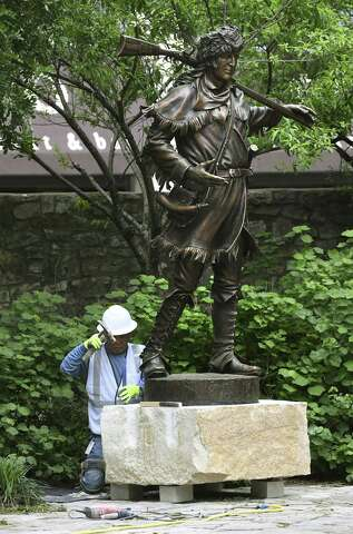 Alamo statues part of new sculpture trail in downtown San