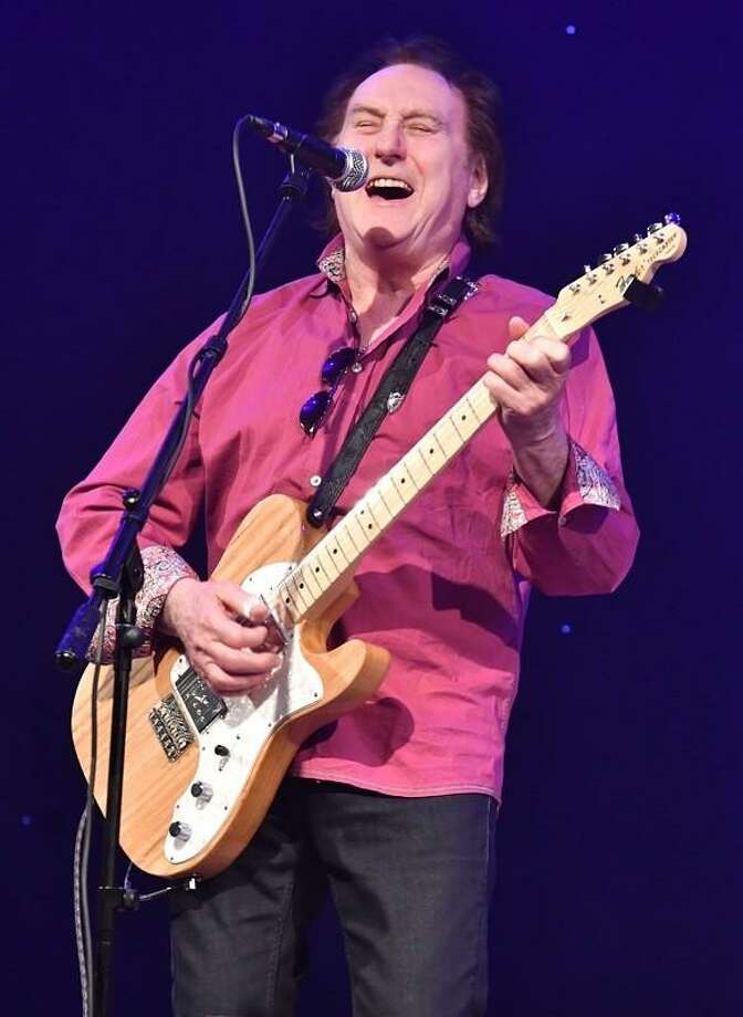 Singer, songwriter and guitarist Denny Laine is shown performing at Infinity Hall in Hartford April 13, 2019. Denny is known as the founder of two major rock band: The Moody Blues, from 1964 to1966, and Paul McCartney & Wings, with whom he played from 1971 tom1981.In addition he has worked with a wide variety of artists during his six decade music career. In 2018, Denny was inducted into the Rock and Rock Hall of Fame and a member of the Moody Blues. To learn more about Denny Laine visit www.facebook.com/DBFLaine Photo: John Atashian / Contributed Photo