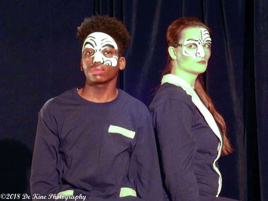 """Oddfellows Playhouse Teen Repertory Company announces the premiere of """"Between You and Me,"""" an original, ensemble-generated play with music. Photo: Bill DeKine / Contributed Photo"""