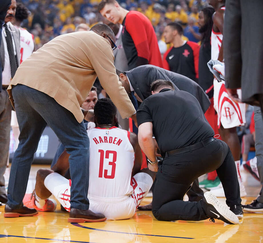 James Harden Rockets: Rockets' James Harden Shaken Up Early With Eye Injury