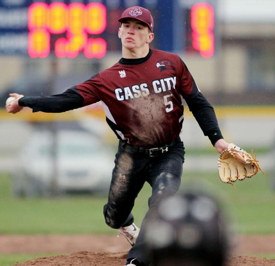 Cass City at Bad Axe — Baseball Photo: Mike Gallagher/Huron Daily Tribune