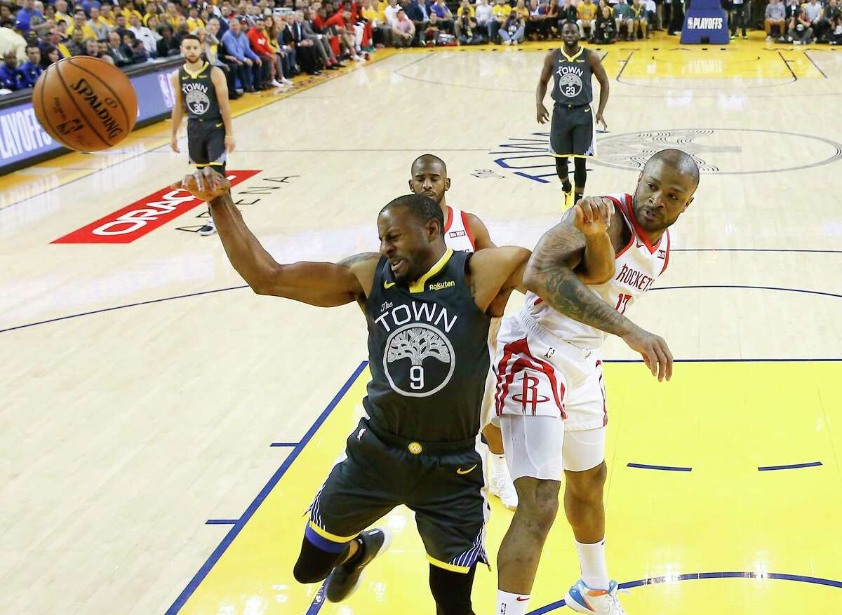 Warriors veteran Andre Iguodala has posed a problem for the Rockets at both ends of the floor through two games of the teams' Western Conference semifinal series.