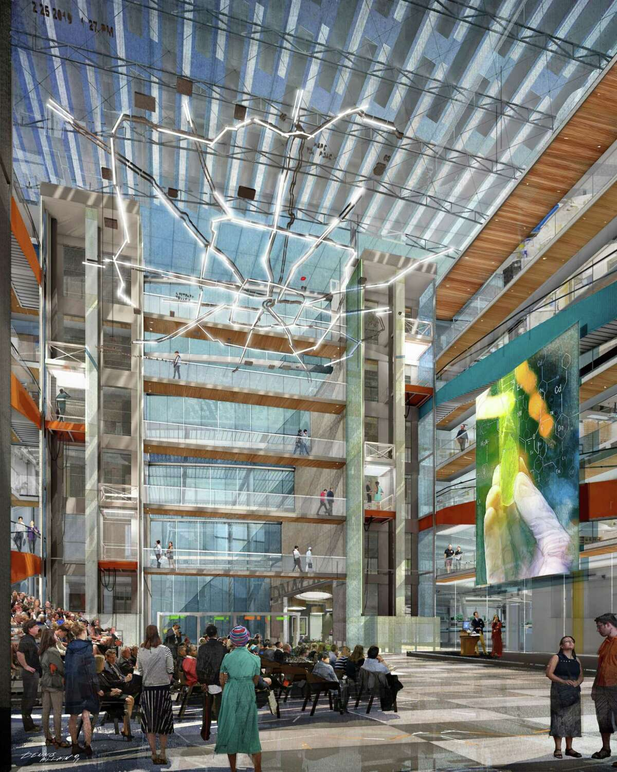 Elkus Manfredi Architects, Transwestern and Vaughn Construction will design, develop and build the proposed TMC3 collaborative biomedical research hub.