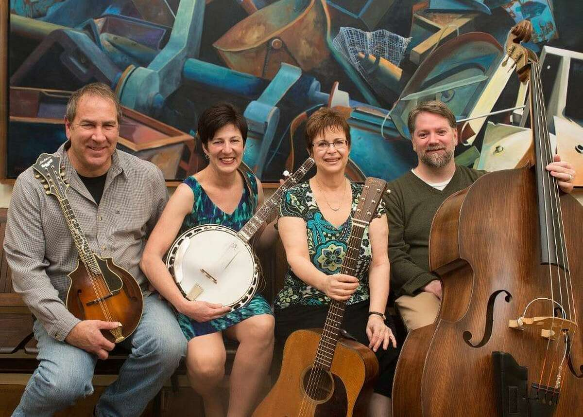 Bluegrass band Too Blue will perform May 11 atthe First Congregational Church on the Branford Green.