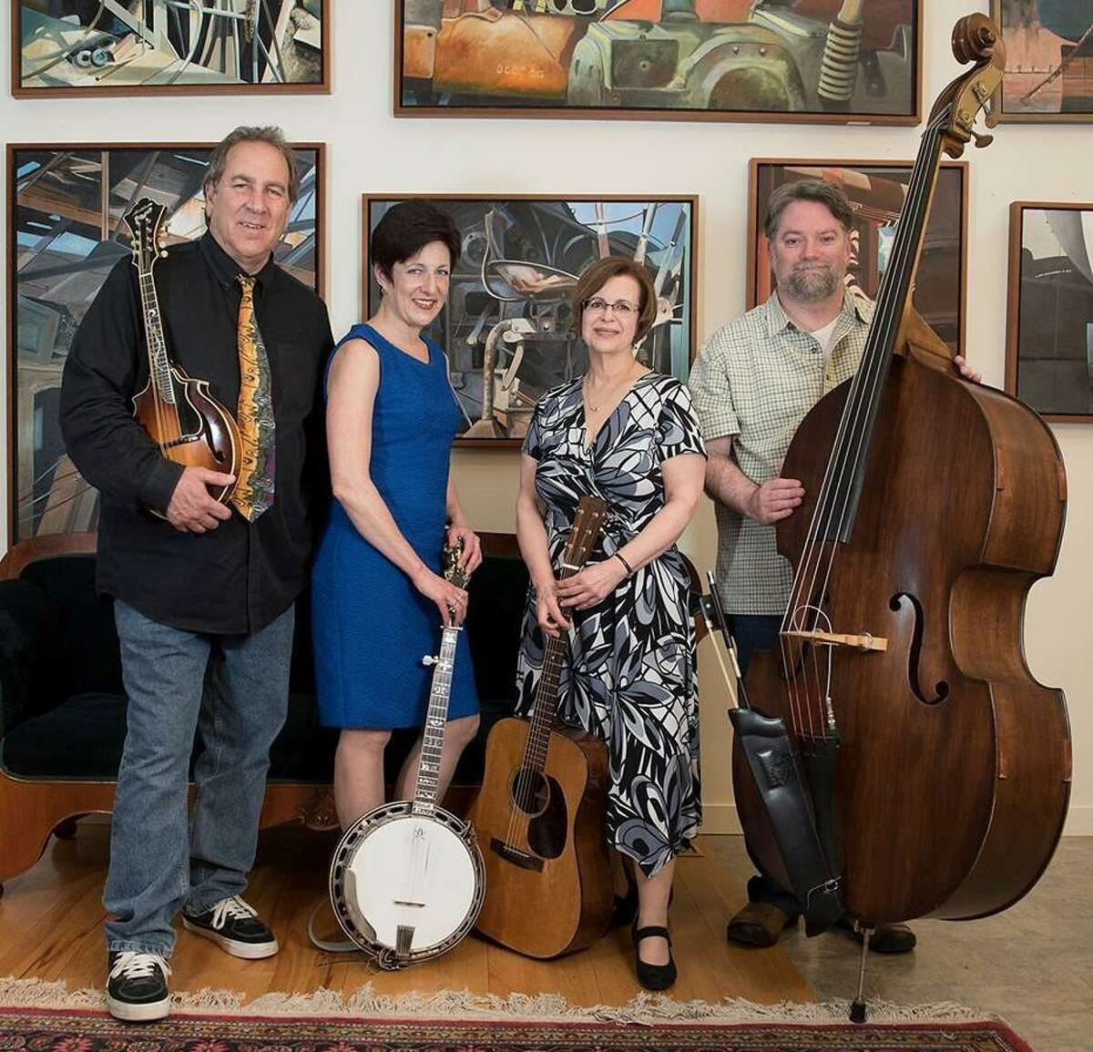 Too Blue will perform at the season finale of Branford Folk Society's concert series May 11.