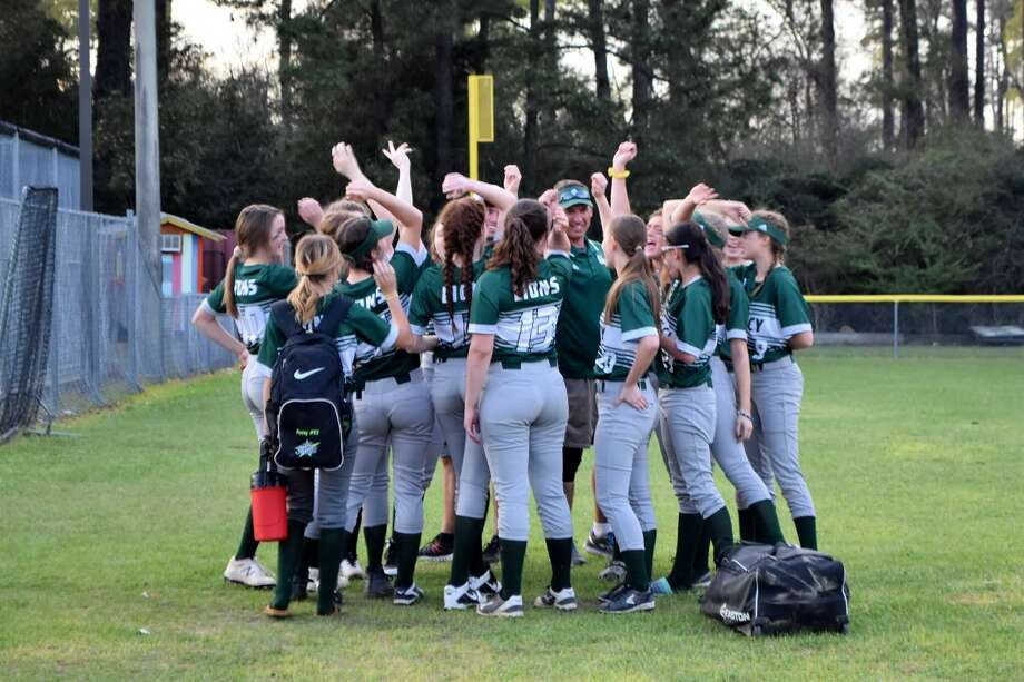 The Legacy Prep softball team captured its first-ever playoff victory on Tuesday evening. Photo: Submitted Photo