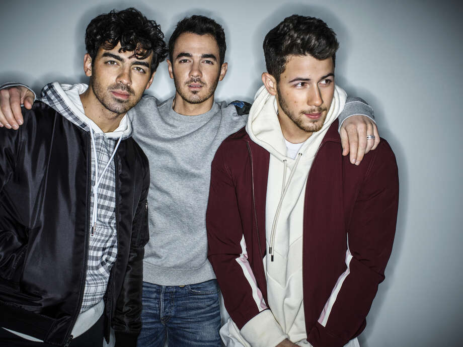 The Jonas Brothers are, from left, Joe, Kevin and Nick. Photo: Peggy Sirota