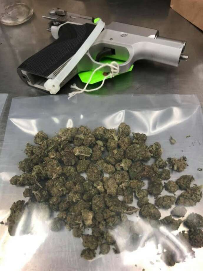 Items seized by police during a search. Photo: Port Arthur Police Department