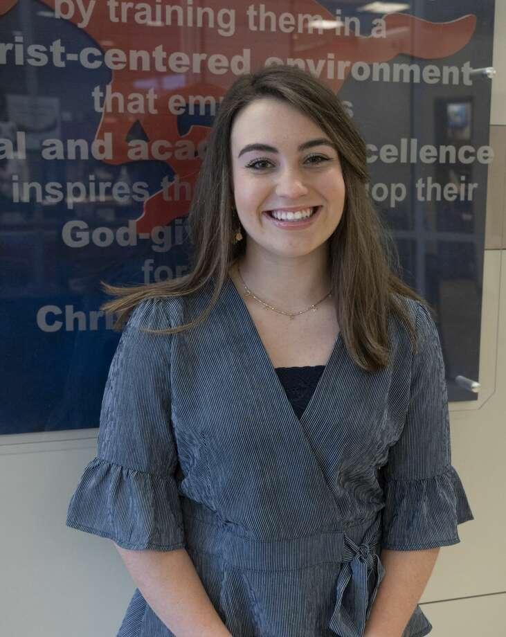 """Ashlyn """"Brooke"""" Willhite -- Valedictorian Photo: Tim Fischer/Midland Reporter-Telegram"""