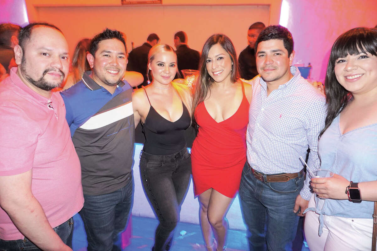 Tommy Hernandez, Ricky and Denise Quintanilla, Alinna Sarmiento, Randy Quintanilla and Deanna Contreras at Siete Banderas
