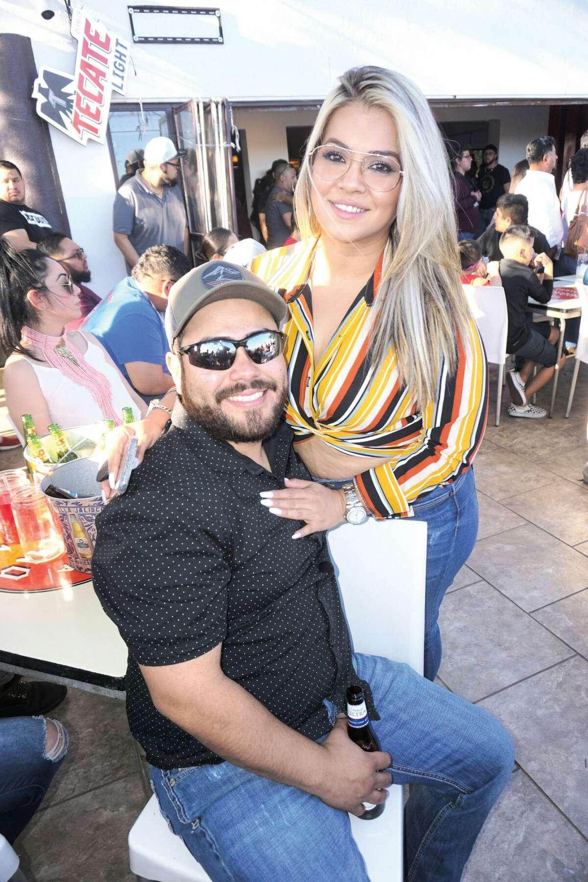 Jerry and Nilda Rodriguez at La Dionisia
