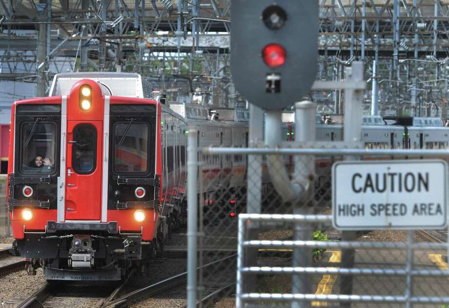 A train on Metro-North's New Haven Line. Photo: Peter Hvizdak / New Haven Register / ©Peter Hvizdak /  New Haven Register