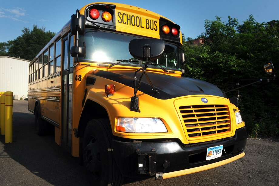 The union representing the Shelton school bus drivers and monitors has reached a tentative agreement with its employer, Durham School Services. Photo: Ned Gerard / Hearst Connecticut Media / Connecticut Post