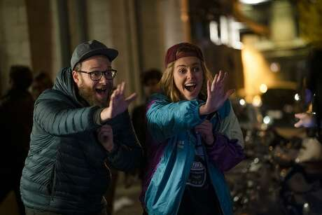 Charlize Theron and Seth Rogen in 'Long Shot' (Lion's Gate Entertainment/TNS)