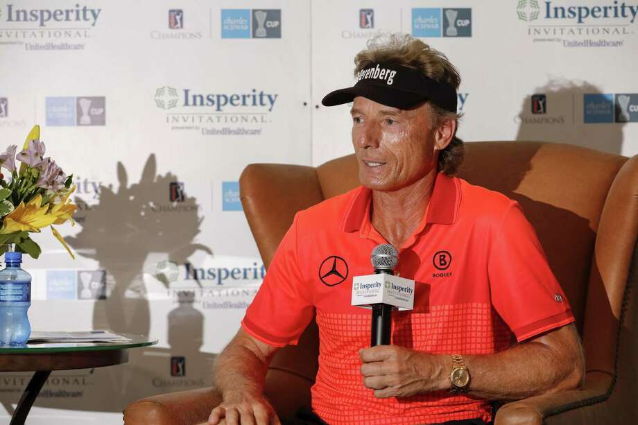Defending champion Bernhard Langer is seeking to win his record fifth title at the Insperity Invitational at The Woodlands Country Club Tournament Course this week. Photo: Tim Warner, Houston Chronicle / Contributor / ©Houston Chronicle