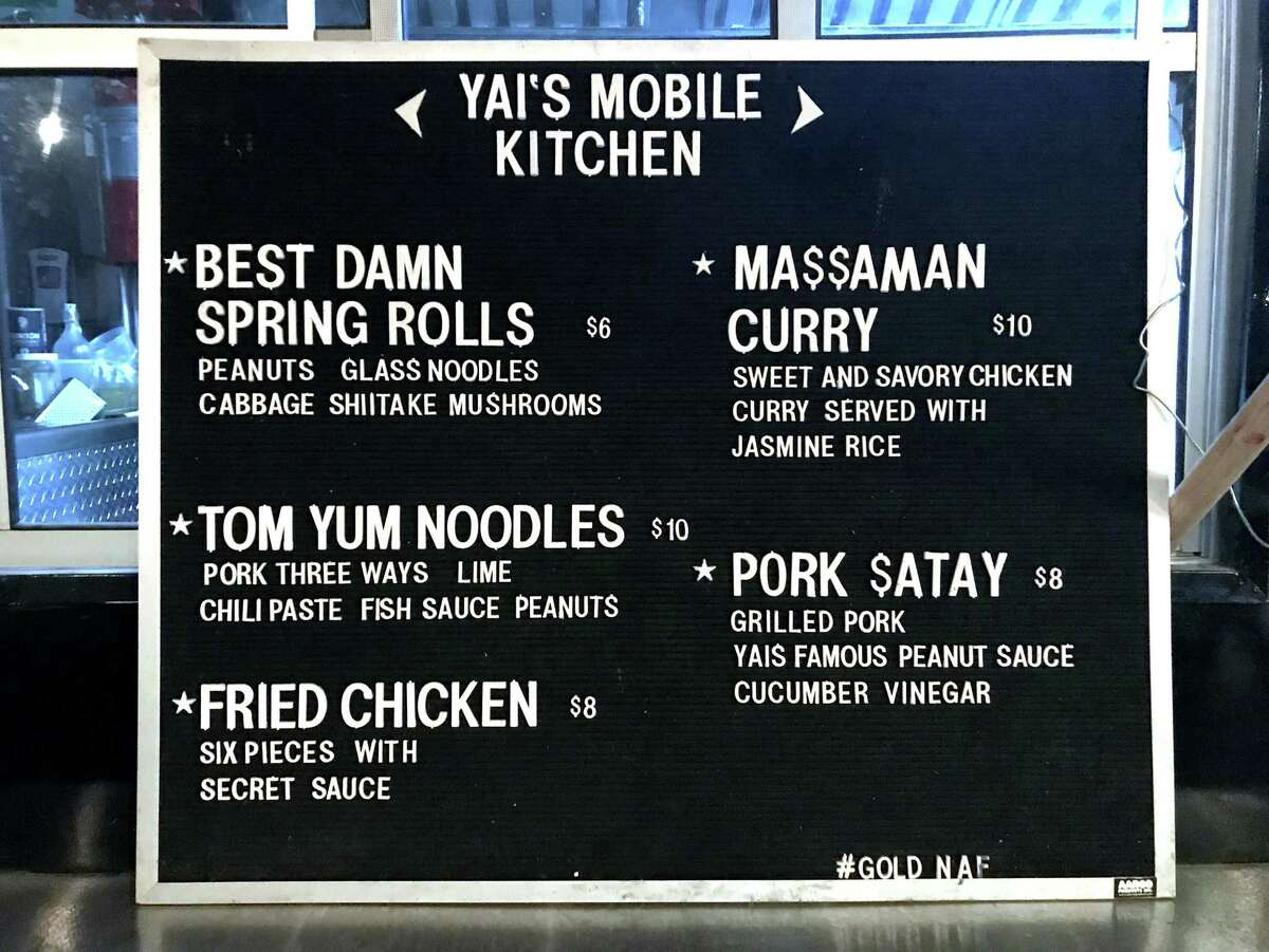 Yai's Mobile Kitchen is open 4 p.m. to 2 a.m. daily outside Still Golden Social House at 1900 Broadway.