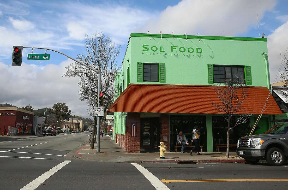 An outside view of Sol Food restaurant in San Rafael, California, on Wednesday, February 17, 2016.
