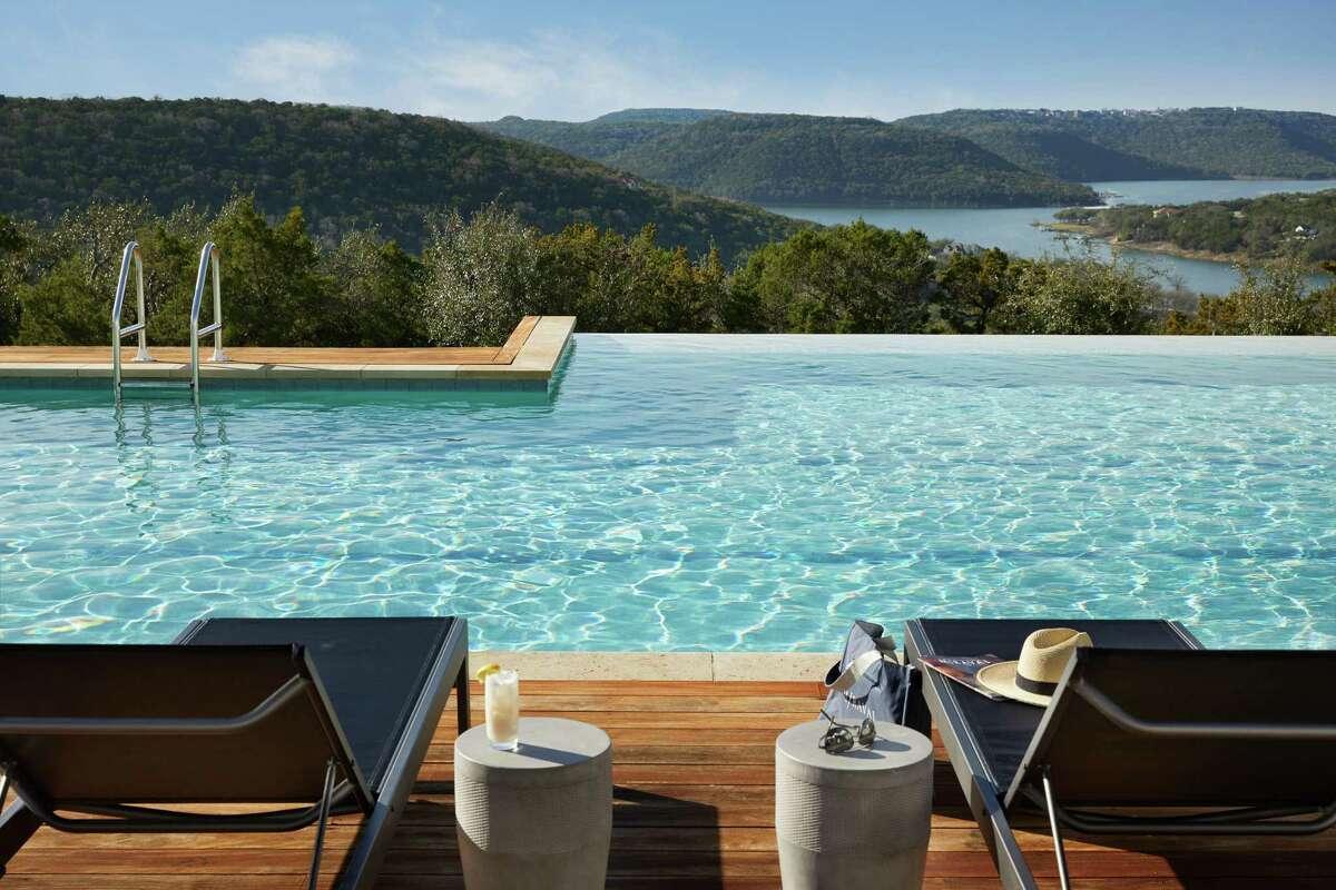 Serenity pool at Miraval Austin