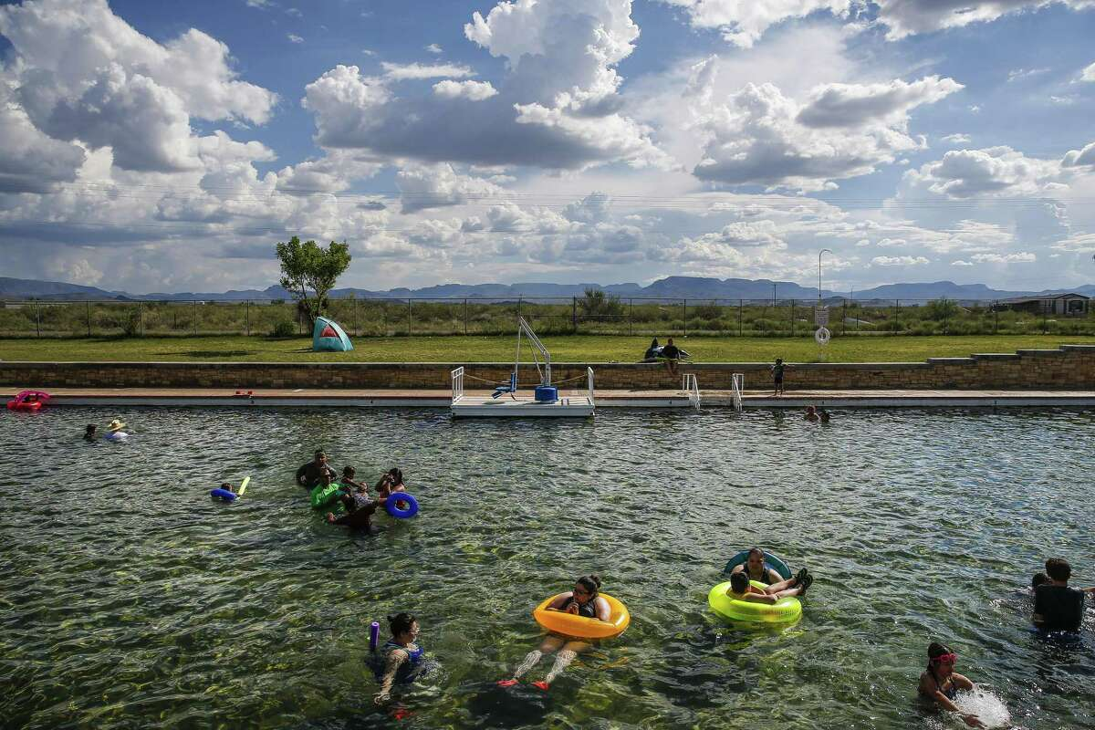 The spring-fed swimming pool and day-use area at Balmorhea State Park will be open after ongoing construction on the pool delayed opening, according to a press release.