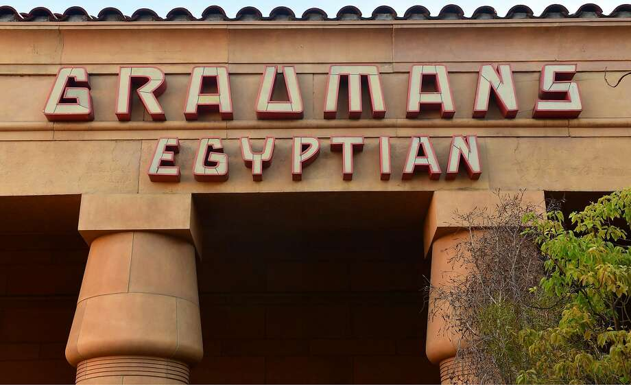 In adition to its growing office presence in Hollywood, Netflix is in talks to buy the historic Grauman's Egyptian Theater, which holds special screenings and events. Photo: Frederic J. Brown / AFP / Getty Images