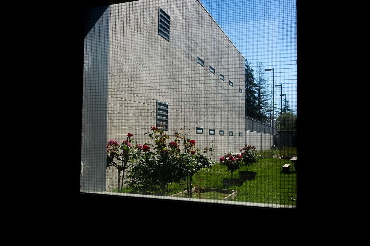 The garden at the Napa County Juvenile Hall on Wednesday, April 24, 2019, in Napa, Calif.