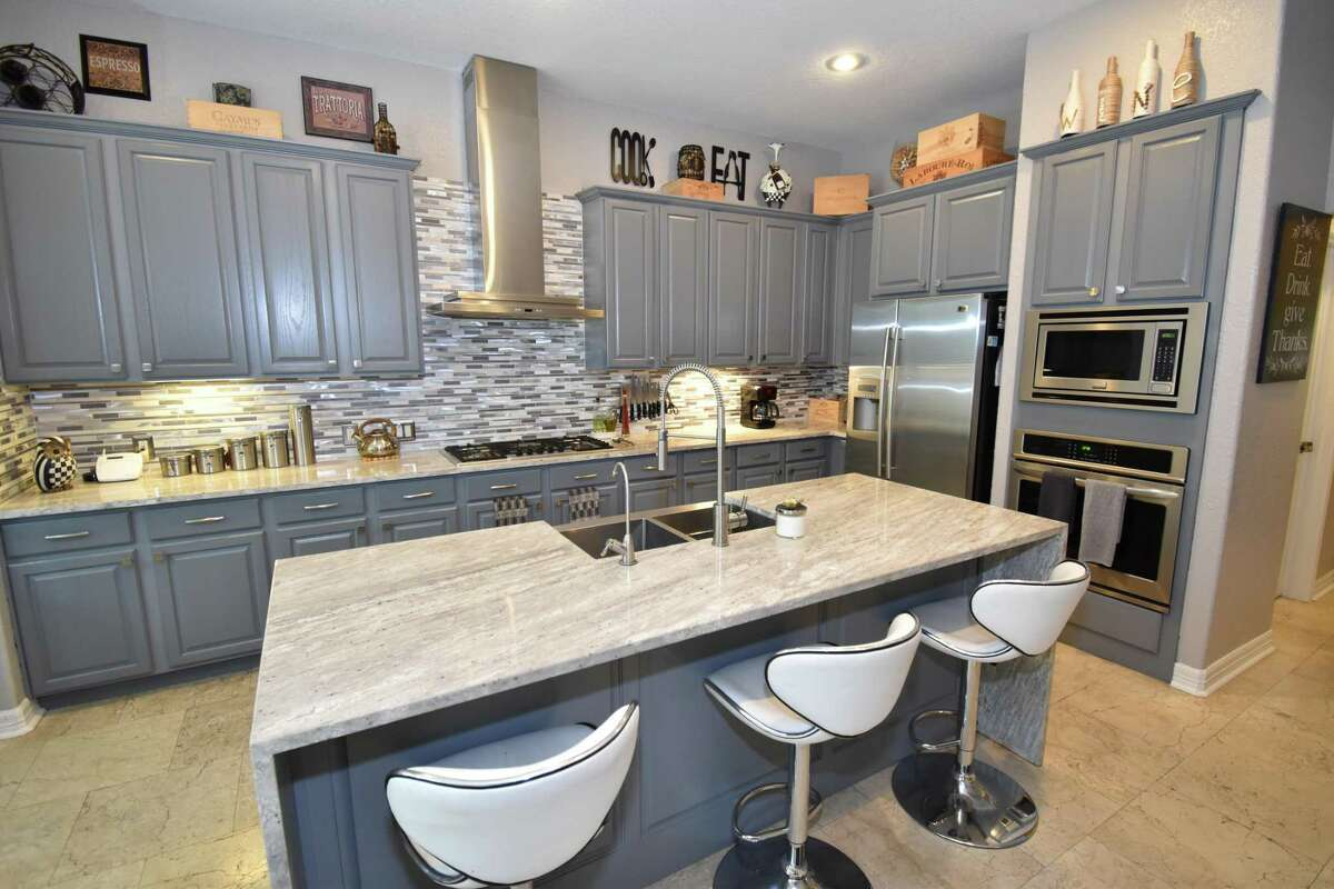 The kitchen in the home of 'Texicanas' star Penny Ayarzagoitia.