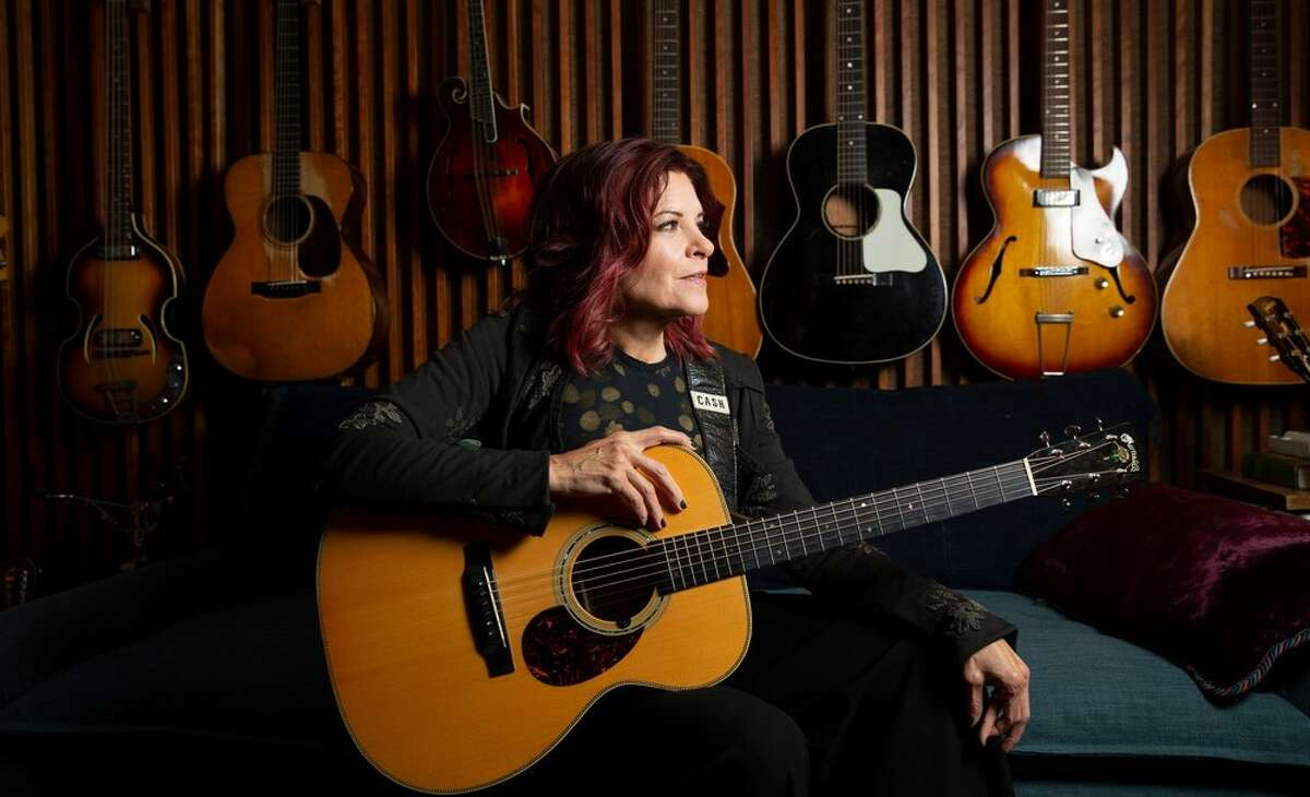 Rosanne Cash performs during the reopening week of Universal Preservation Hall in Saratoga Springs.