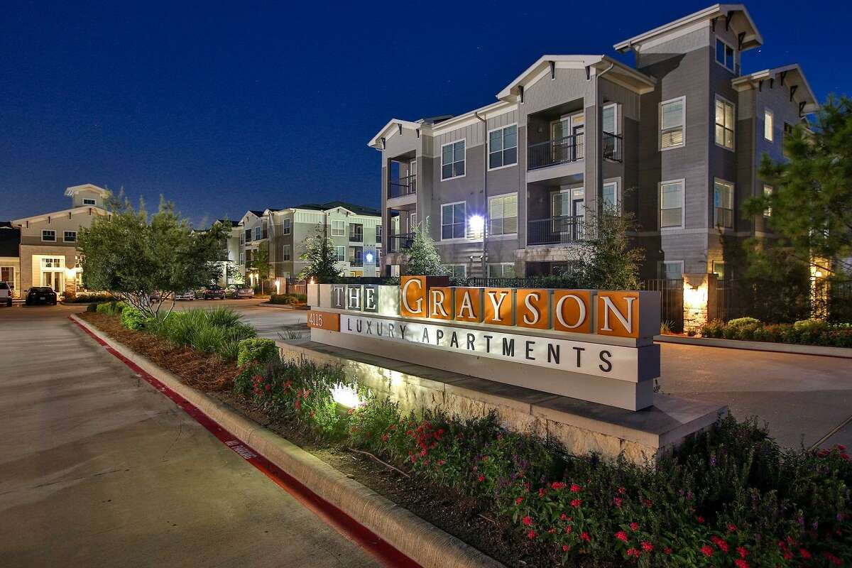 Passco Cos.now owns The Grayson, a 330-unit apartment property at 4115 Louetta Road in Spring. The property has a fitness center, dog park, jogging trail, resident lounge and kitchen, cyber café, a resort-style swimming pool, outdoor courtyard kitchen with grilling stations and a fireplace.