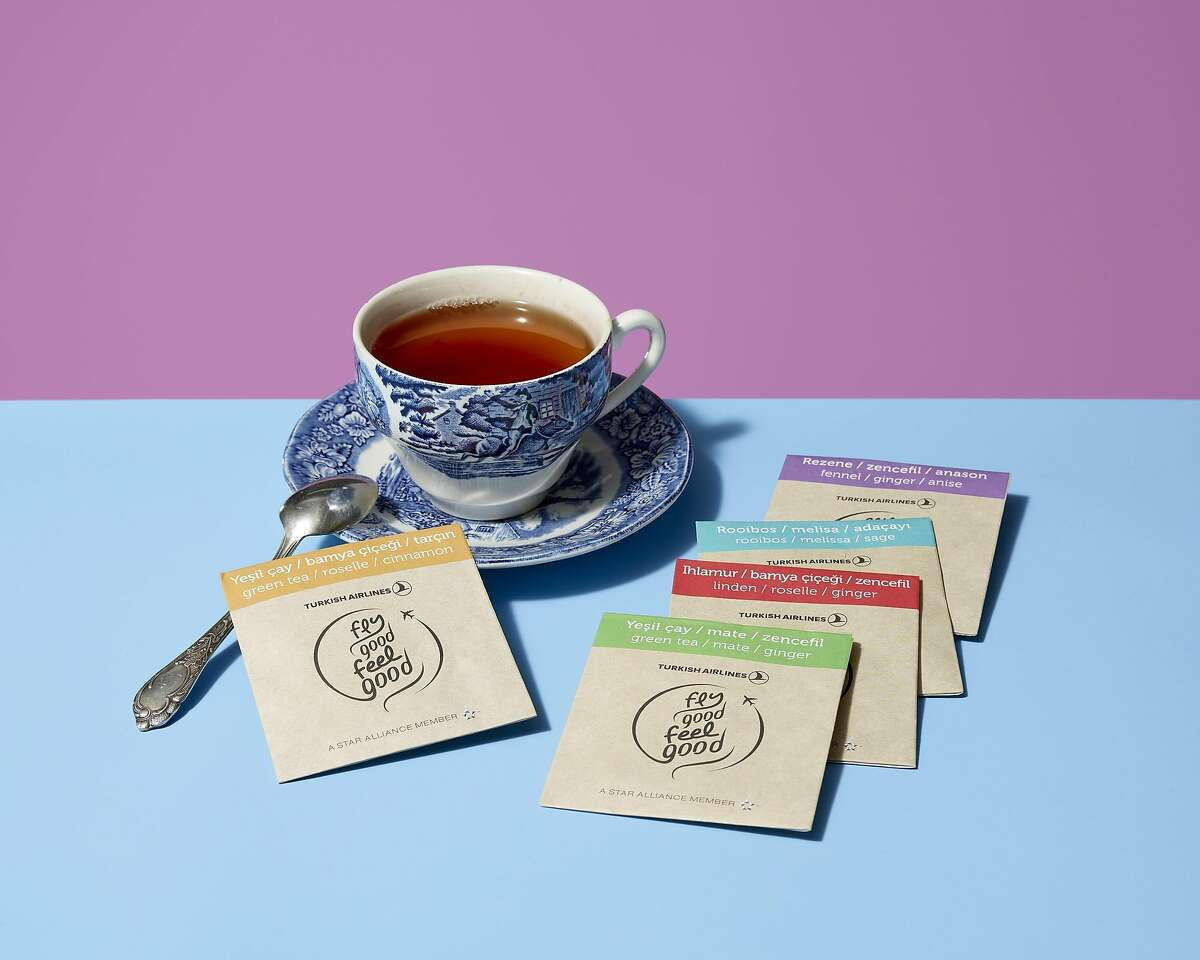 These teas developed by Oz are part of the effort to keep airline passengers healthier during and after their flights.