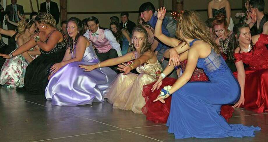 Deckerville students celebrated prom Saturday night at the Mi-Dahs Well Banquet Hall and spend the evening on the dance floor. For more photos of the eventful night, see Page 8A. (Mike Gallagher/Huron Daily Tribune)