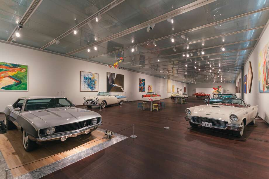 """American Dreams: Classic Cars and Postwar Paintings at the McNay Art Museum features 10 classic cars presented as modern sculpture, including the Silver Spur, a 1969 """"resto-mod"""" restored and on loan by Holt Campanies Executive Vice President Larry Mills. Photo: Courtesy, McNay Art Museum: Beth Devillier"""