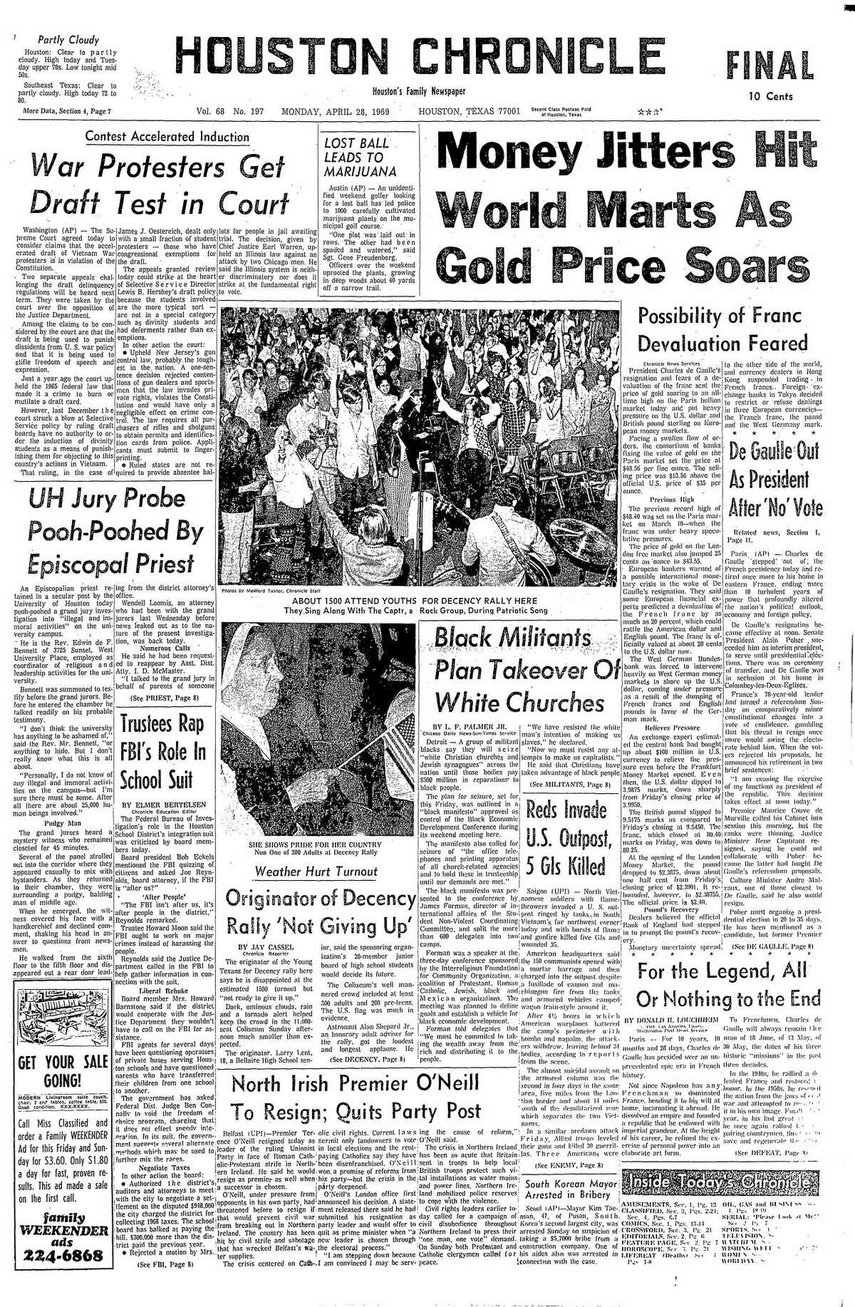 April 28, 1969