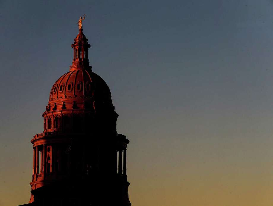 The sun sets over the Texas Capitol Tuesday, Oct. 11, 2016, in Austin.  ( Jon Shapley / Houston Chronicle ) Photo: Jon Shapley, Staff / Houston Chronicle / Stratford Booster Club