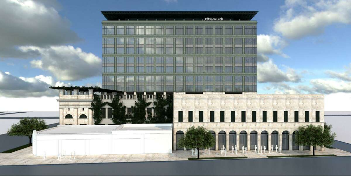 Jefferson Bank plans to build a 12-story tower on Broadway for its new headquarters.