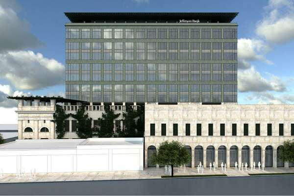 Jefferson Bank Tower Planned Near Downtown San Antonio Gets Initial