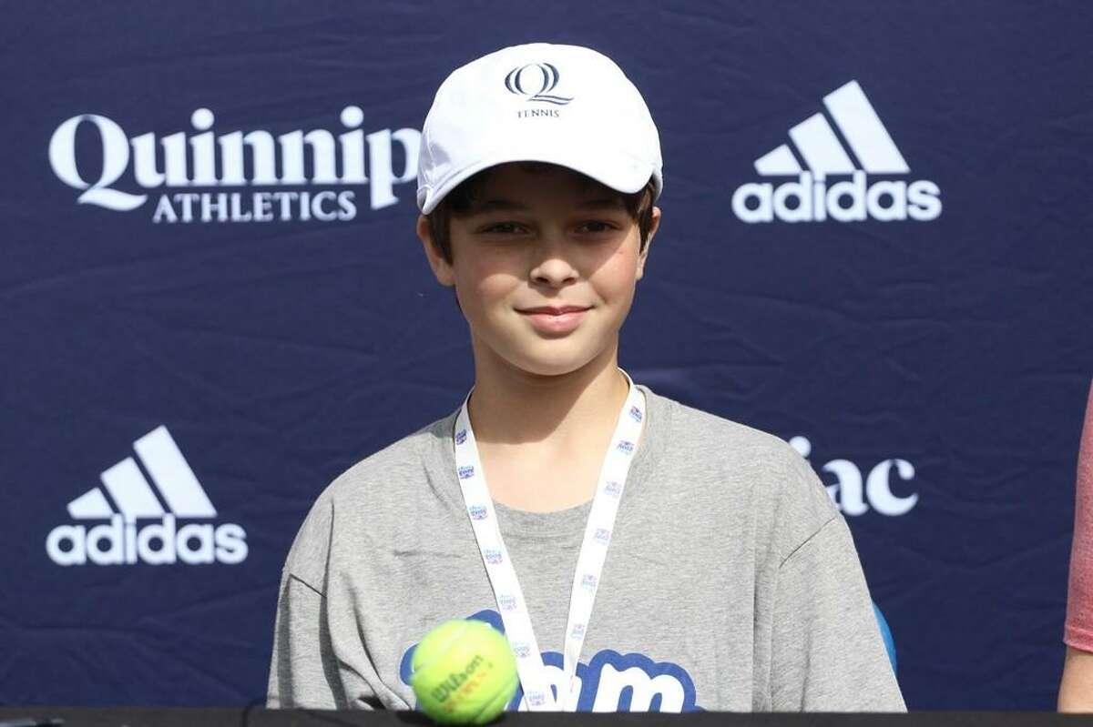 12-year-old Logan Merwin of Haddam, a sixth-grader at Haddam-Killingworth Middle School, lives with Type 1 Diabetes. He was selected to be a delegate from Connecticut at the Juvenile Diabetes Research Foundation's Children's Congress in Washington, D.C., this summer.