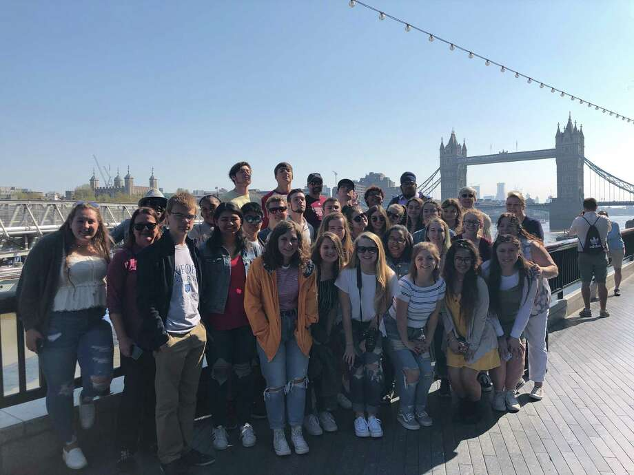 Torrington High School students recently traveled to England and Ireland on a school-sponsored trip. Photo: Contributed Photo