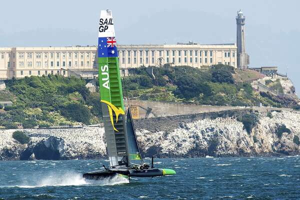 SailGP brings the world's fastest sailboats to the bay - SFChronicle com