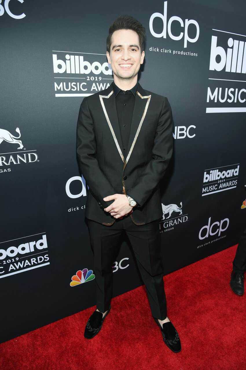 LAS VEGAS, NV - MAY 01: Brendon Urie of Panic! at the Disco attends the 2019 Billboard Music Awards at MGM Grand Garden Arena on May 1, 2019 in Las Vegas, Nevada. (Photo by Kevin Mazur/Getty Images for dcp)