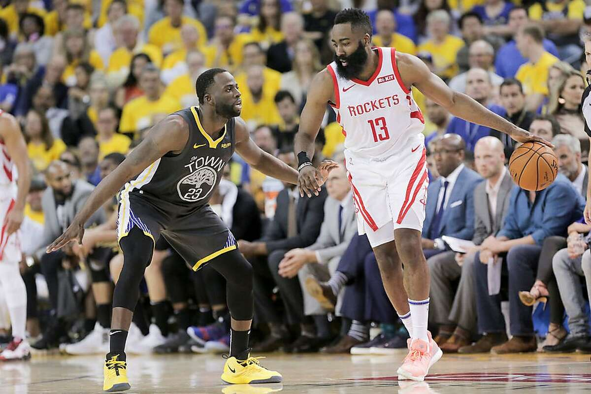 Draymond Green remains the core of the Warriors' defense. The question is who will follow his lead and help fill the opening created by the loss of Klay Thompson.