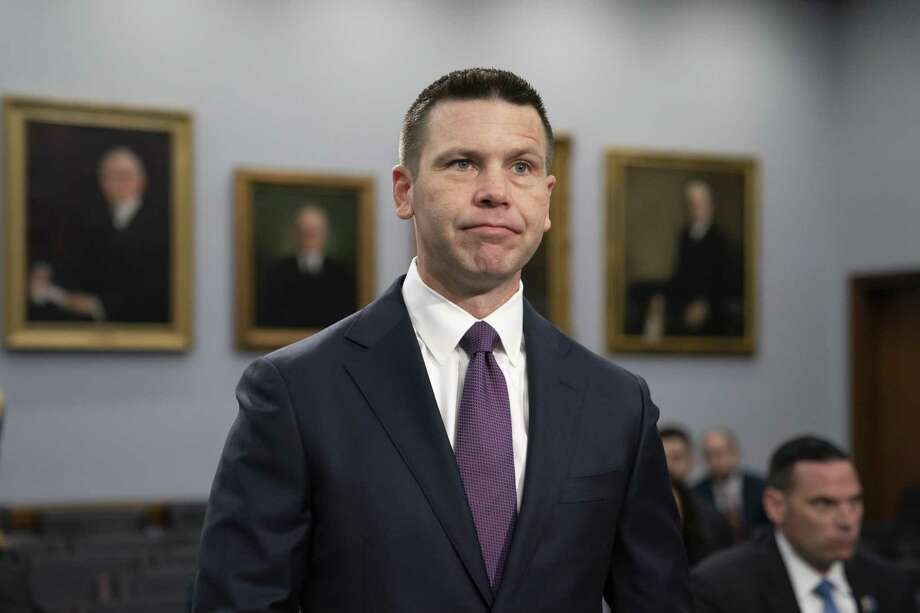 El secretario interino de seguridad nacional de EEUU Kevin McAleenan en el Congreso en Washington el 30 de abril del 2019. Photo: J. Scott Applewhite /Associated Press / Copyright 2019 The Associated Press. All rights reserved.